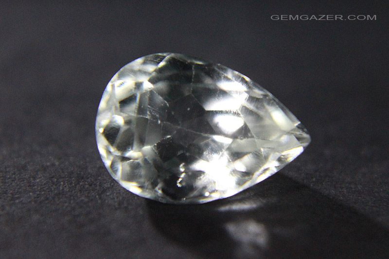 amblygonite colourless faceted brazil 2 44 carats